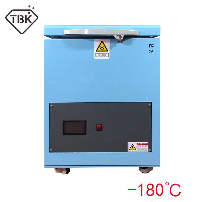 TBK 2018 Newest Professional Mass -180C LCD Touch Screen Freezing Separating Machine LCD Panel Frozen Separator Machine for edge