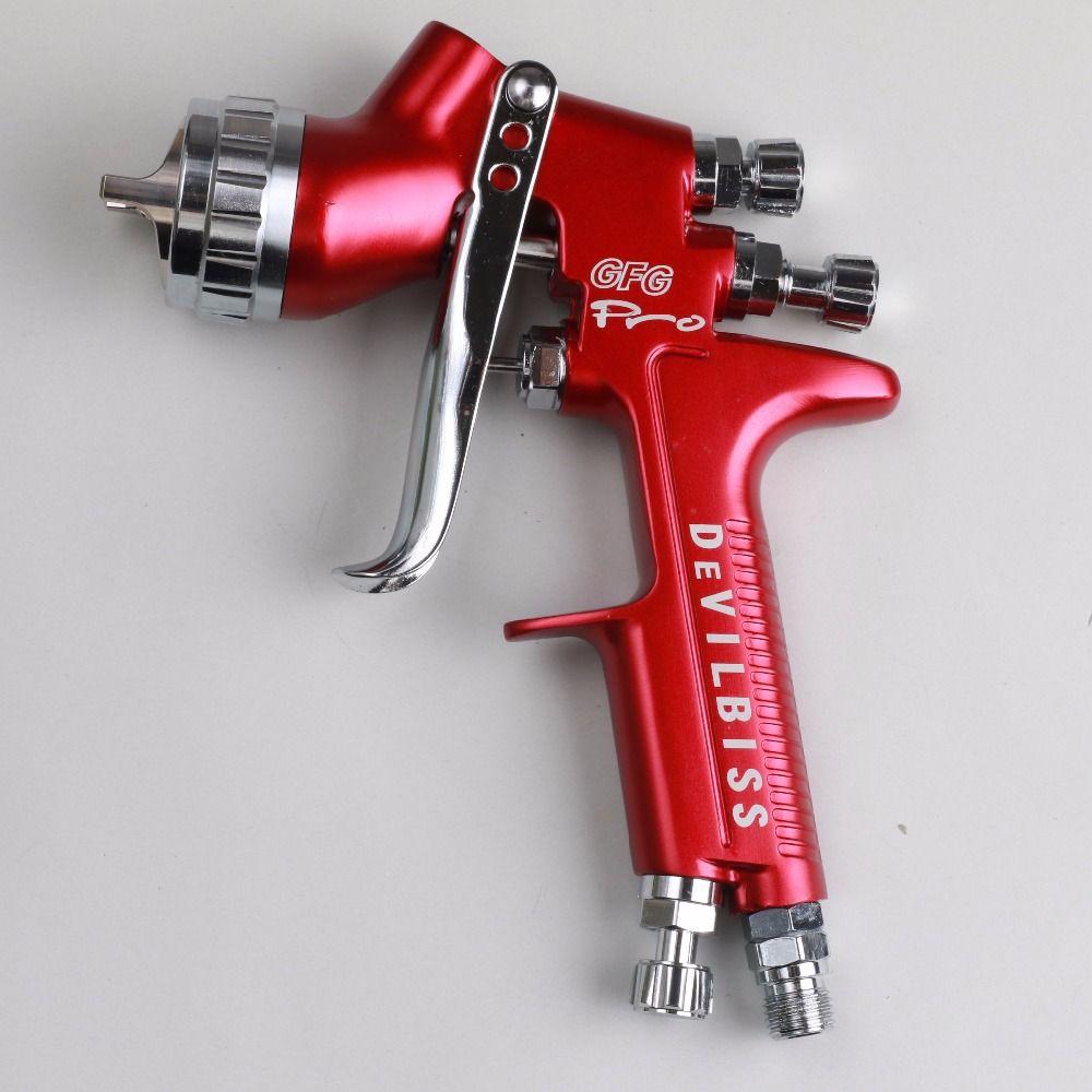 Wholesale and retail Devilbiss GFG Pro professional spray gun HVLP car paint gun, painted high efficiency, good atomization