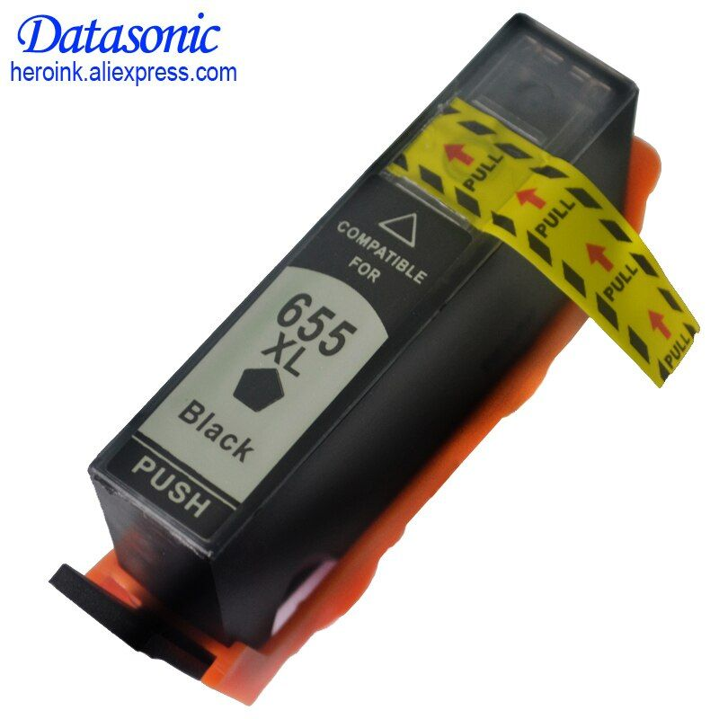 DAT Printer Ink Cartridges with Chip for hp 655 hp655 655 XL compatible for HP deskjet 3525 4615 4625 5525 6520 CZ109AE CZ110AE