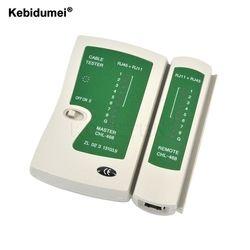 Kebidumei RJ45 RJ11Cat5 Cat6 LAN Câble Testeur De Poche Testeur de Câble Réseau Fil Détecteur de Ligne Téléphonique Tracker Outil kit