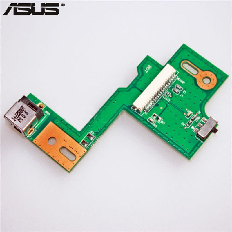 New DC POWER JACK SWITCH BOARD Replacement Parts For ASUS N53JQ N53SV N53JF N53JN N53SN Repair Part