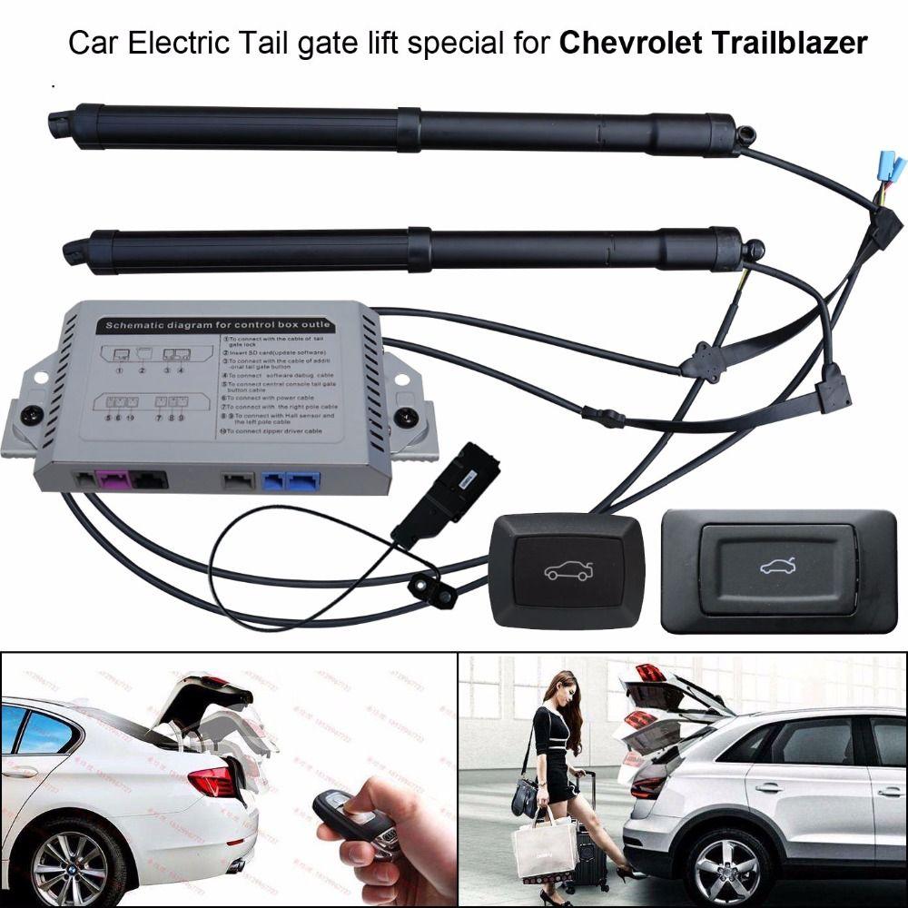 Auto Elektrische Schwanz tor lift spezielle für Chevrolet Trailblazer Leicht für Sie zu Kontrollieren Stamm mit Latch