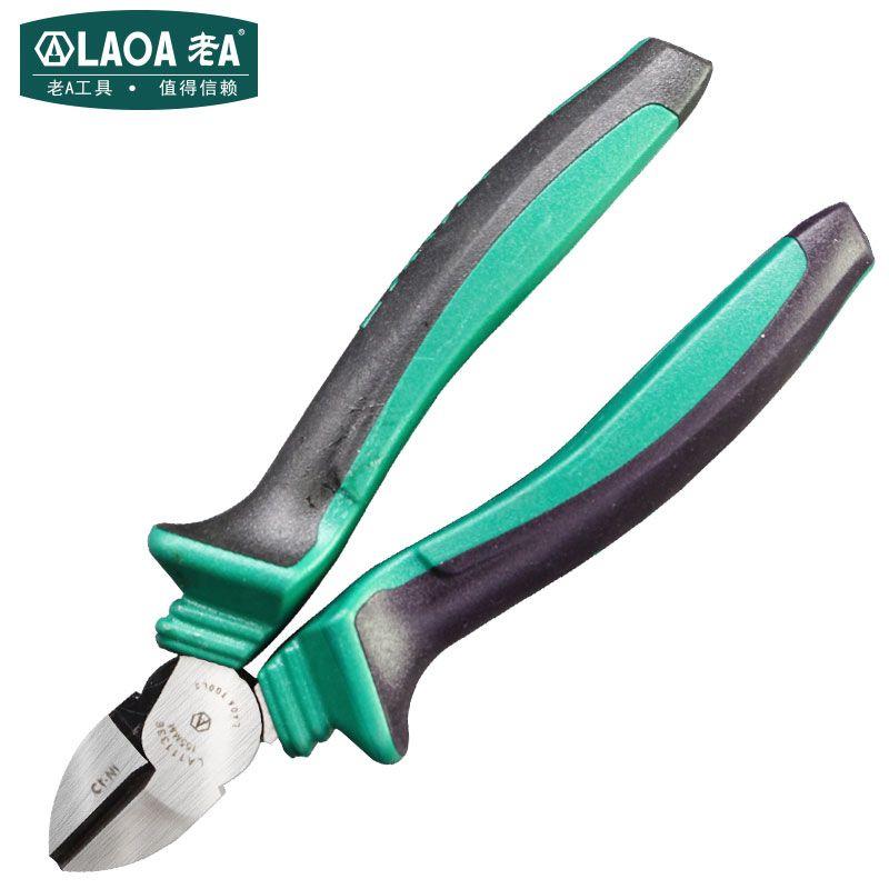 Pinces diagonales industrielles LAOA pinces en acier inoxydable de haute dureté pinces coupantes diagonales économiseuses d'énergie