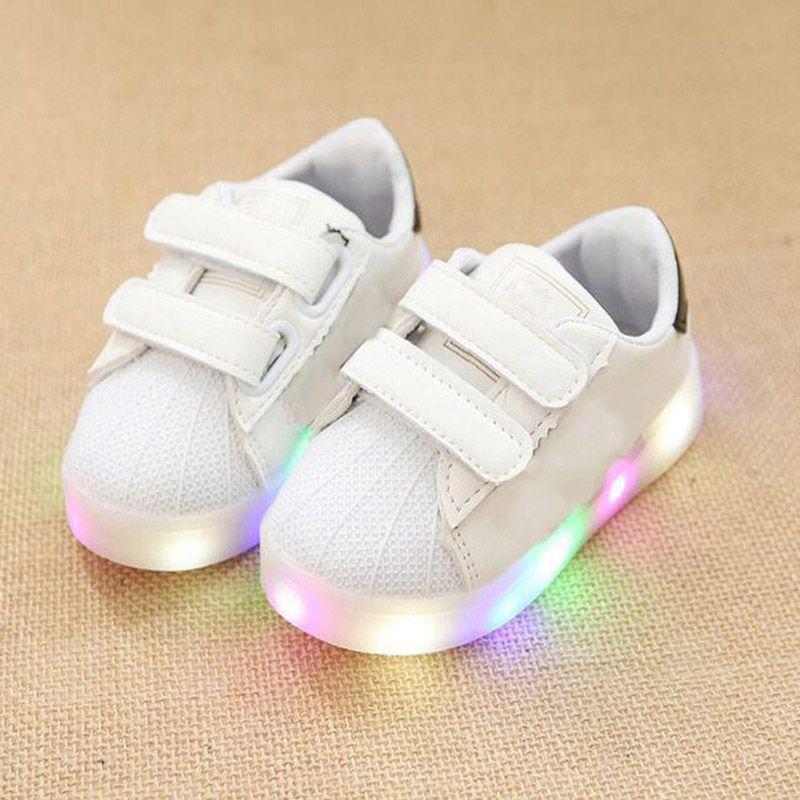 2017 европейские классические новый бренд детская повседневная обувь светодиодные кроссовки для мальчиков и девочек повседневные светящиес...