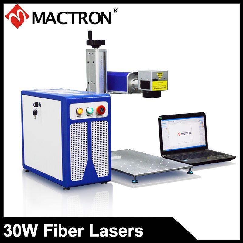 30 w Tragbare Mini Metall Faser Laser Gravur Maschine Schmuck Gravur Maschine Für Edelstahl, PCB, Kunststoff