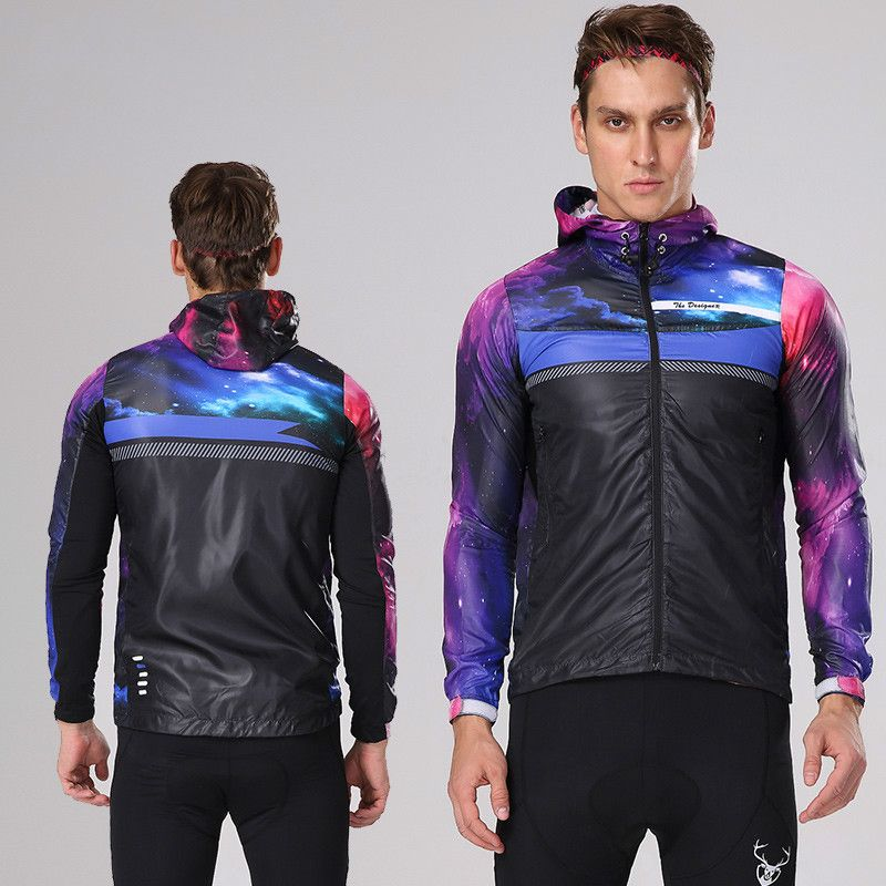 Mountainpeak Riding Windbreaker Coat Men and Women Breathable Sun Protection Equipment Equipped with Tour Cycling Jacket