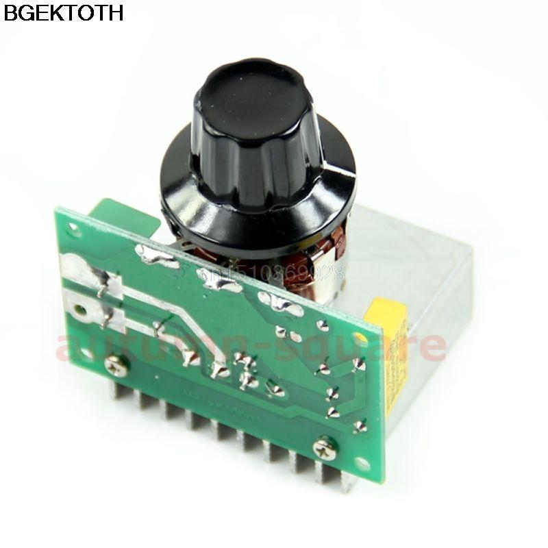 AC 220 V 3800 Watt SCR Spannungsregler Dimmen Dimmer Drehzahlregler Thermostat M126 heißer verkauf