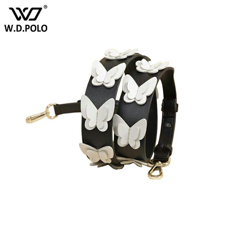 WDPOLO strapper usted Nuevo Remache de La Manera Bolsos Cinturones Mujer Correa Del Bolso de Las Mujeres Bolsa de Bolsas de Accesorios Piezas de mango para bolsas Q1187
