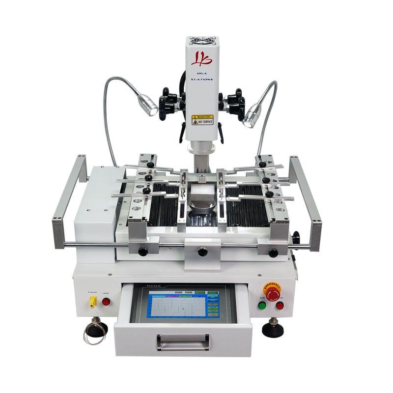 Klassische BGA Rework Station LY R690 V.3 3 zonen heißer luft touchscreen solder maschine mit laser punkt 4300 W pinsel schablone stift