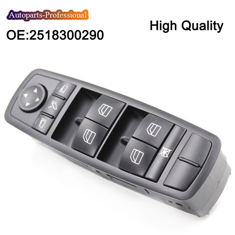 New Power Window Switch For Mercedes W164 GL320 GL350 GL450 ML320 ML350 ML450 2518300290 A2518300290 A 251 830 02 90