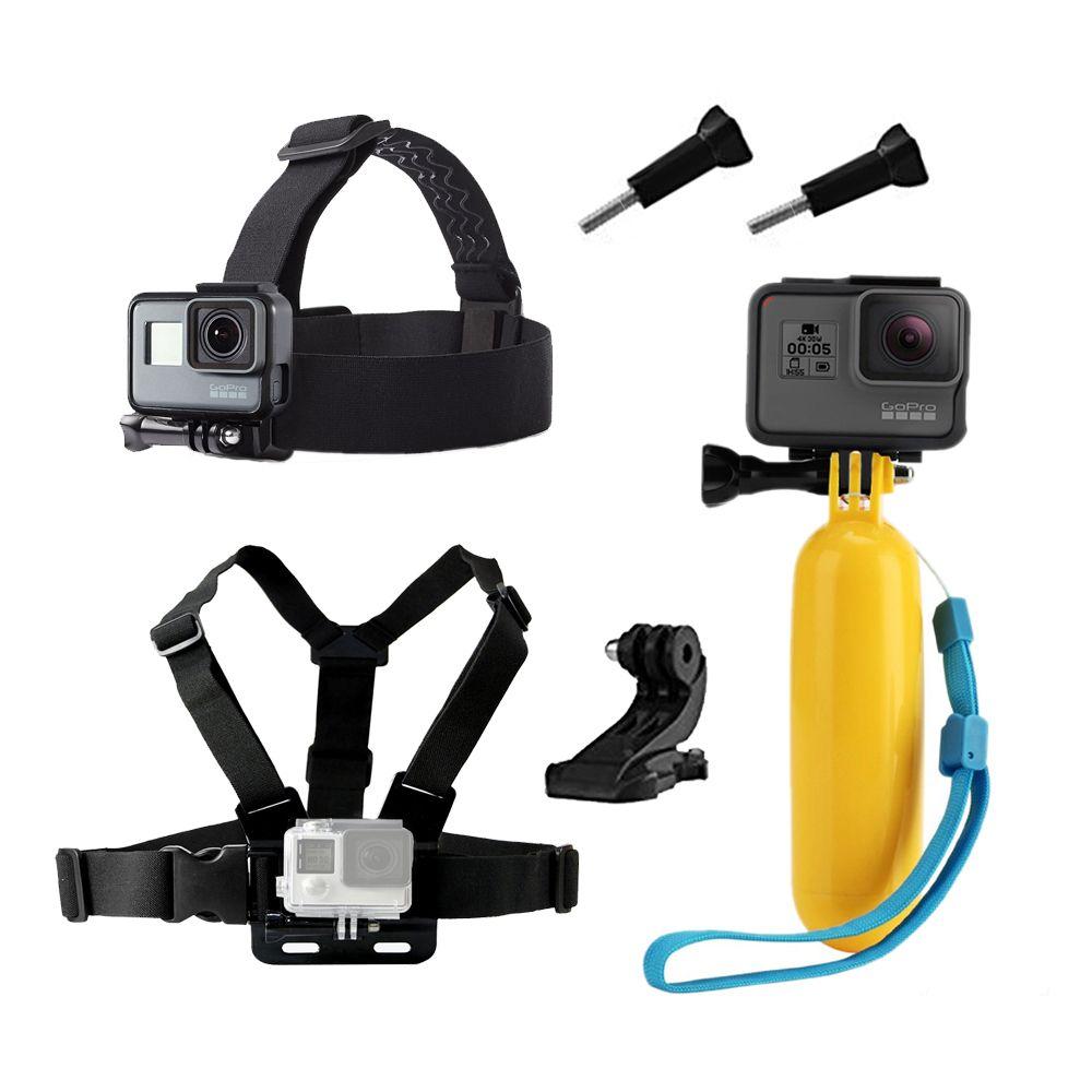 Accessoires pour Gopro hero 5 6 Poitrine Montage Pour Xiaomi Yi 4 K pour Eken H9 Sangle SJCAM SJ4000 Pour Go pro Hero 5 D'action caméra