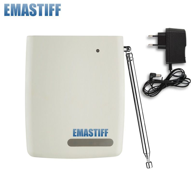 free shipping Wireless Signal Repeater Transmitter Enhance Sensors Signal 433MHz Just For Our GSM PSTN Alarm System