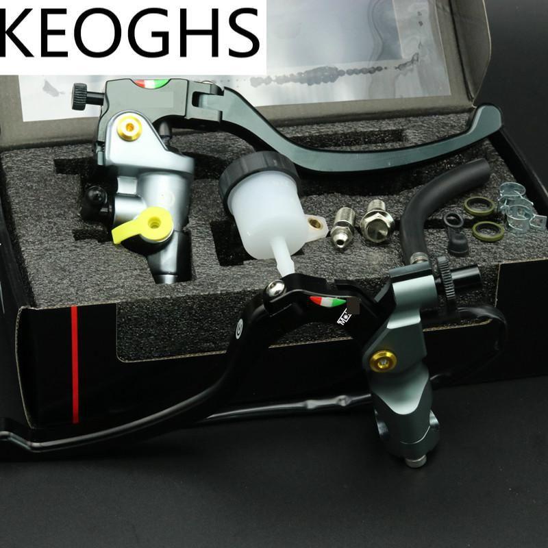 KEOGHS Universal 22mm 7/8'' Motorcycle Brake Master Cylinder Brake Clutch Lever Cnc Aluminum For Honda Yamaha Kawasaki Suzuki