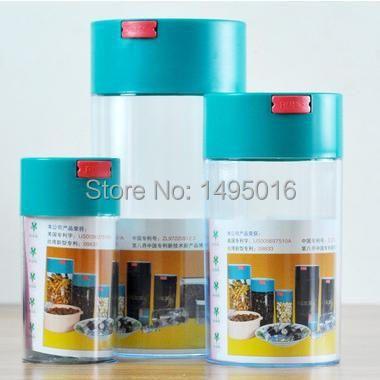 Bidon de poudre de grains de café frais de conservation sous vide FeiC 1 pc boîtes scellées grande/moyenne/petite taille