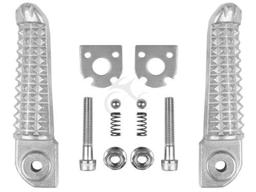 Motorcycle parts  Footrests Foot pegs for the YAMAHA YZF R1 2002-2012 R6 2003-2012 R6S 06-09
