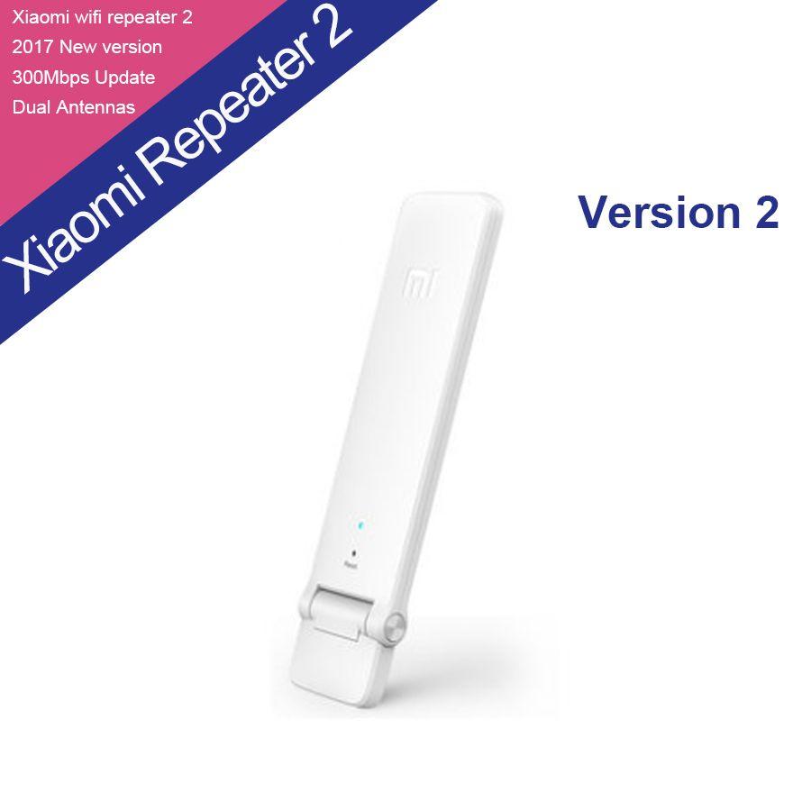 Original Xiaomi WIFI Amplifier 2 Wireless Wi-Fi Repeater 2 Network Router Extender Antenna Wifi Repitidor Signal Extender 2