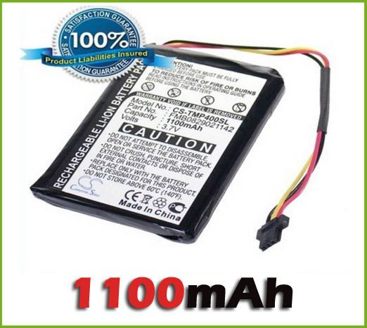 GPS Battery for TomTom One XL 4EG0.001.17, 6027A0090721, 6027A0093901, R2 new