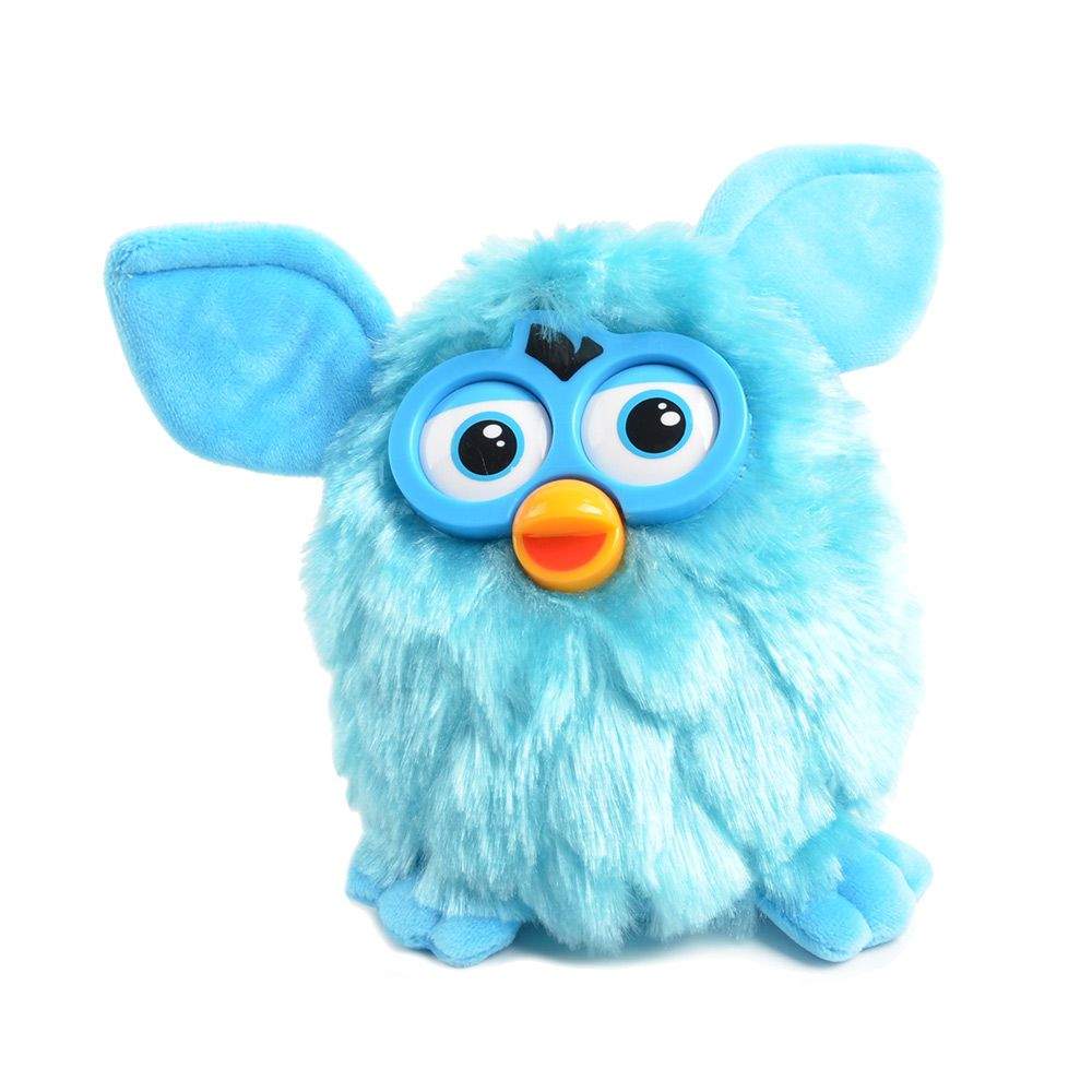 Talking Plush Phoebe Owl- Electronic & Interactive Recording Repeating Robotic Pets- <font><b>Gift</b></font> Toys for Children-17 CM