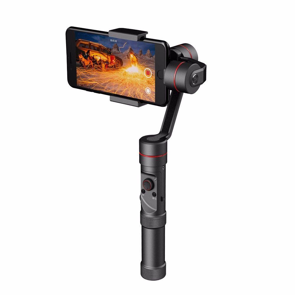 Zhiyun Glatte III Glatte 3 Achse Handheld Gimbal Kamera Halterung für iPhone 7 6 Plus für Samsung S7 S5 S5 hinweis 4 7 etc Smartphones