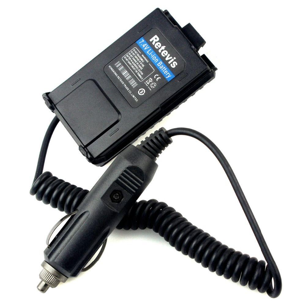 Retevis Battery Eliminator Adapter 12V For Baofeng UV-5R UV5R Retevis RT-5R Walkie Talkie Ham Radio Hf Transceiver C9011A
