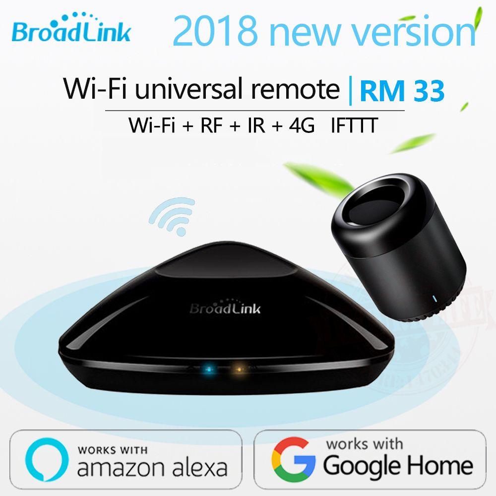 Broadlink RM3 RM Pro +/RM mini3 Smart Domotique Télécommande Universelle contrôleur Intelligent WIFI + IR + RF commutateur Pour iOS Android