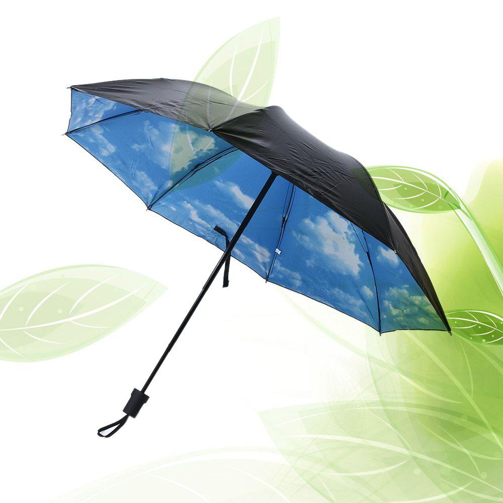 Three Folding Rain Umbrella Waterproof Women's Umbrella Anti-UV Sunny Parasol Outdoor Rain Umbrella guarda-chuva