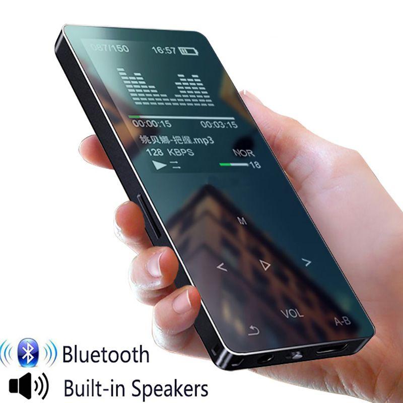 MP4 player mit bluetooth sport mp3 mp4 musik-player ith lautsprecher tragbare mp 4 media slim touch Screen fm radio video Hifi 16 GB