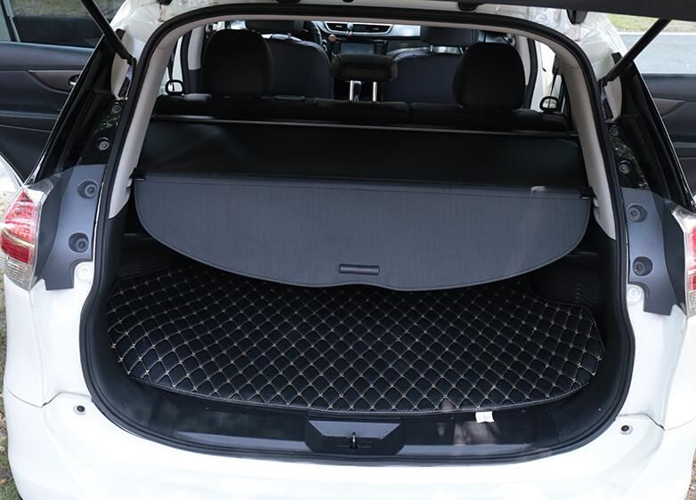 Auto rear trunk cargo cover For Nissan X-TRAIL 2014 2015 2016 2017 , auto accessories
