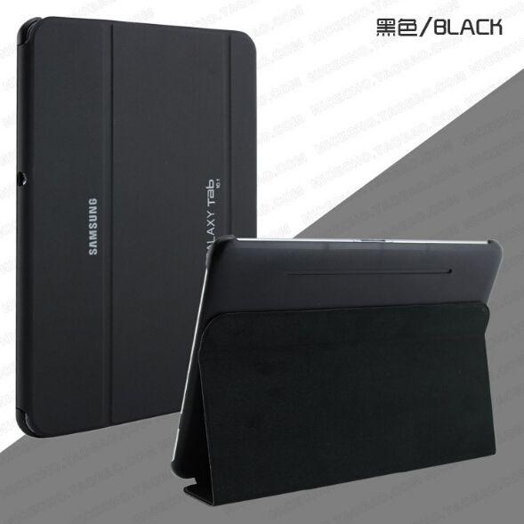 Negocios PU funda de piel para samsung galaxy Tab 2 10.1 p5100 p5110 p7500 p7510 de la tableta de la cubierta + stylus pen