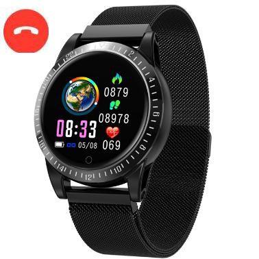 Ak19 étanche montre intelligente hommes fréquence cardiaque smartwatch Bracelet intelligent Fitness Tracker relogio Mp3 intelligent Bracelet sport montre