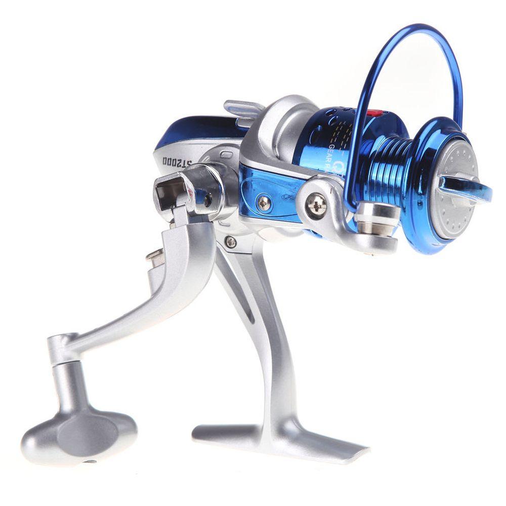 CGDS Qunhai High Speed 8BB Ball Bearing Left/Right Handle Fish Fishing Spinning Reel 5.1:1 Blue