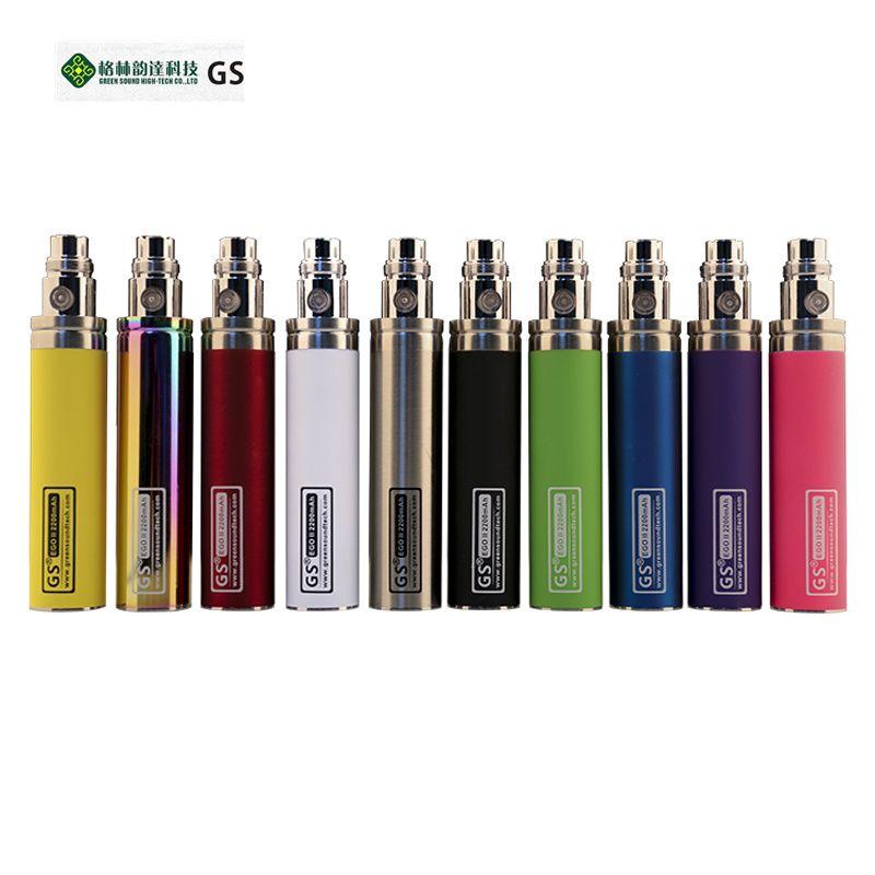 Green New Kapazität 2200 mah EGO 1 woche Batterie Für ego II Elektronische Zigarette Ego/510 Gewinde Batterie (1 EGO 1 woche II)