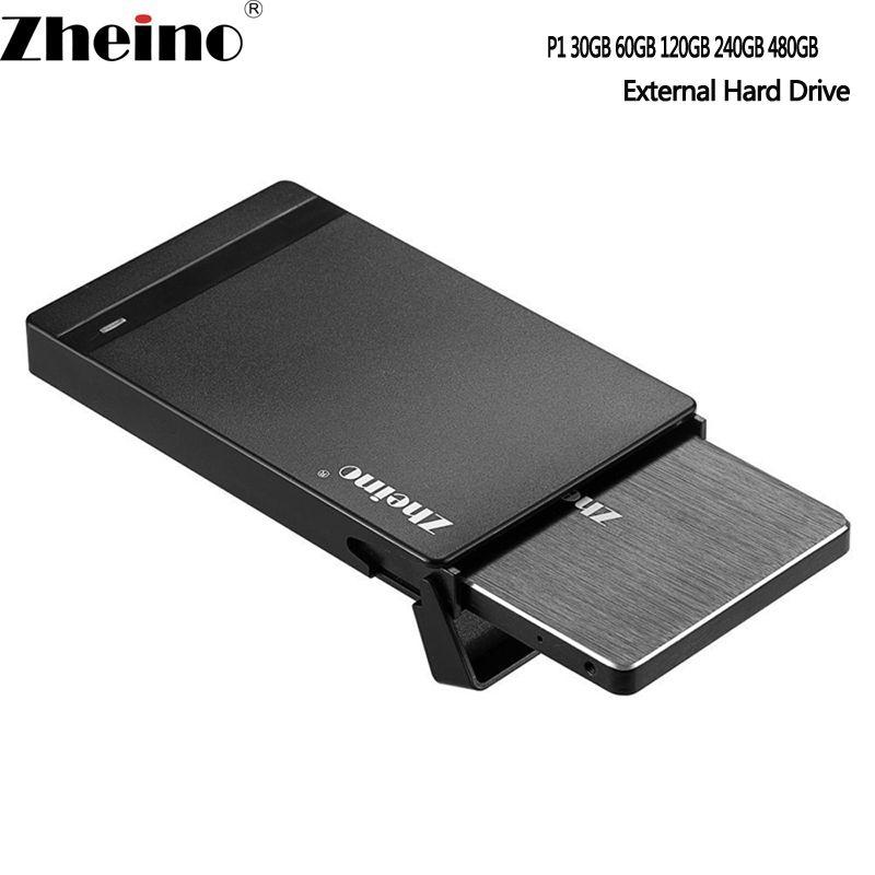 Zheino P1 External SSD 60GB 120GB 240GB 360GB 480GB 960GB 128GB <font><b>256GB</b></font> 512GB 1TB External USB Flash Drive Disk Driver