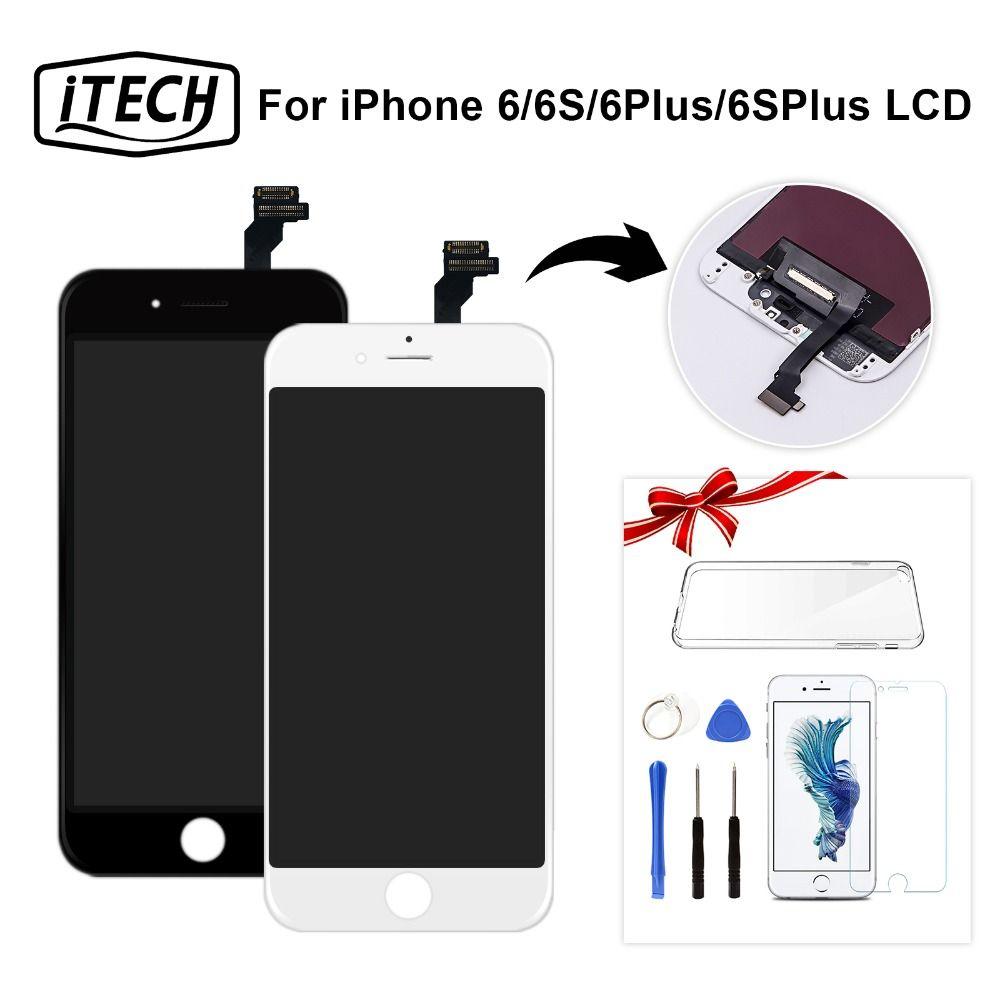 Véritable AAA + + + Pour iPhone 6 s LCD Avec 3D Force Tactile Écran de Remplacement Pour Apple 6 Plus Marque Nouveau affichage Livraison Gratuite