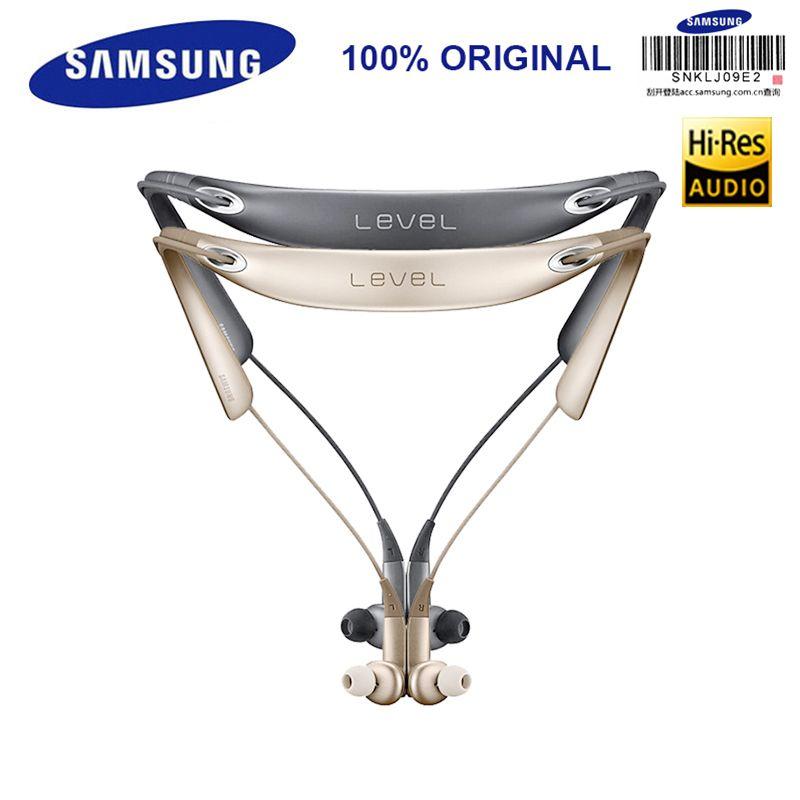 SAMSUNG Original Level U PRO Bluetooth Earphone Sport Collar In-Ear A2DP,HSP,HFP,AVRCP for Galaxy S8/8Plus