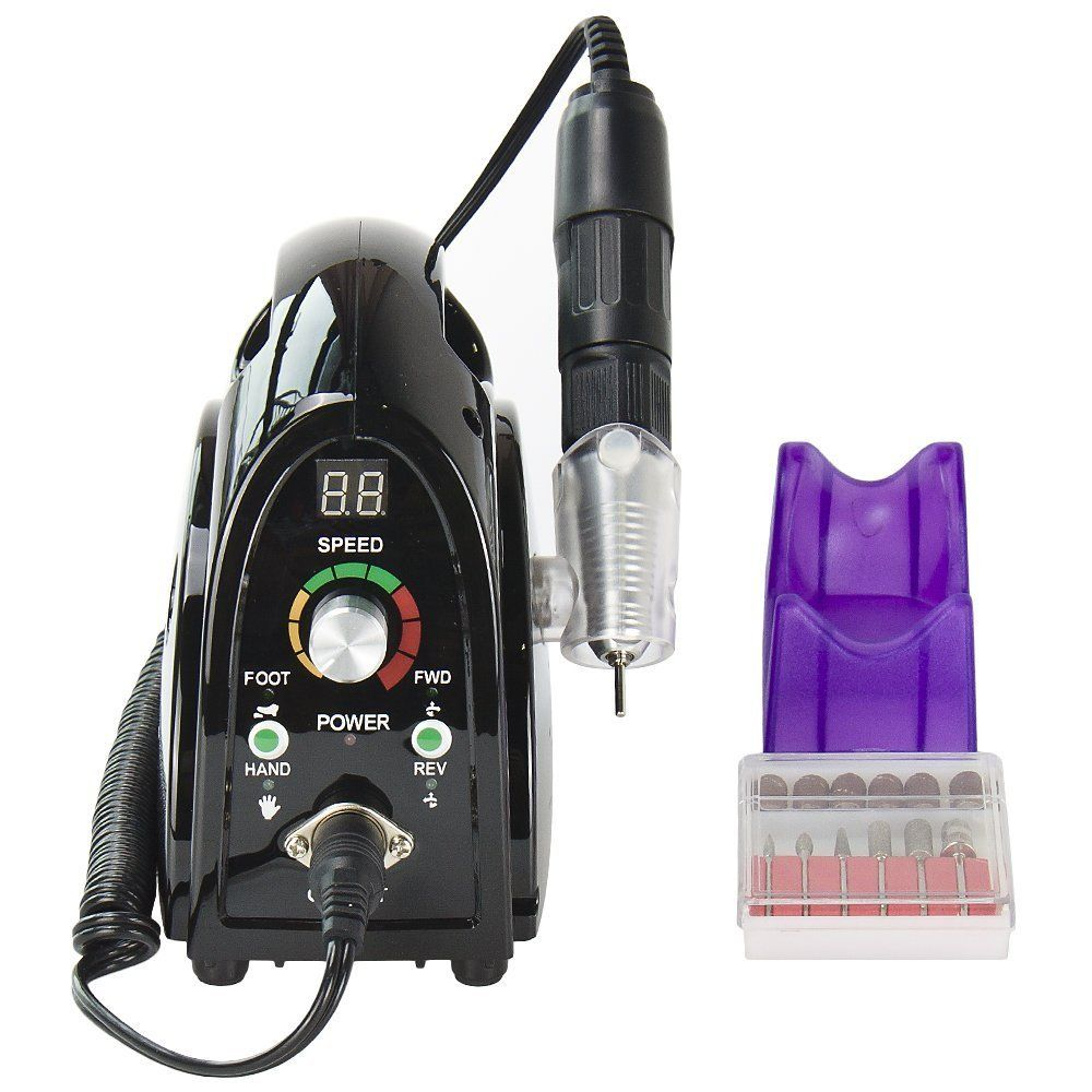 High-grade professional Nail Tools Electric Nail Art Equipment Manicure 35000RPM handheld devices 65W Nail Drill Machine