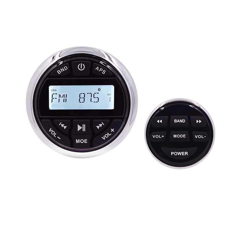 HASDA Marine Stereo Boat Audio Bluetooth Radio FM AM USB MP3 Player for Motorcycle Auto ATV UTV +Receiver Wired Remote Control