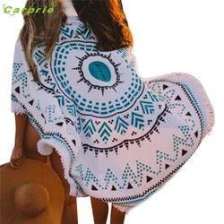 Top Selling! New Round Hippie Tapestry Beach Throw Roundie Mandala Towel Yoga Mat Bohemian Beautiful Gift drop shipping JA03b