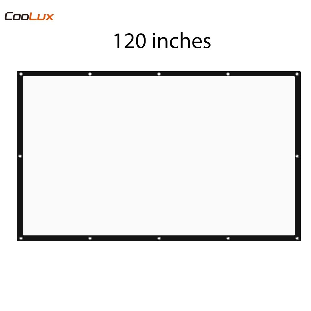 120 inch 16:9 Foldable Projection Projector Screen High Brightness Portable Projection Screen