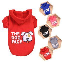 Hondenkleding ropa para perros Hoodies ropa para pequeño perro medio ropa para mascotas los perros cara productos historieta 15 s1