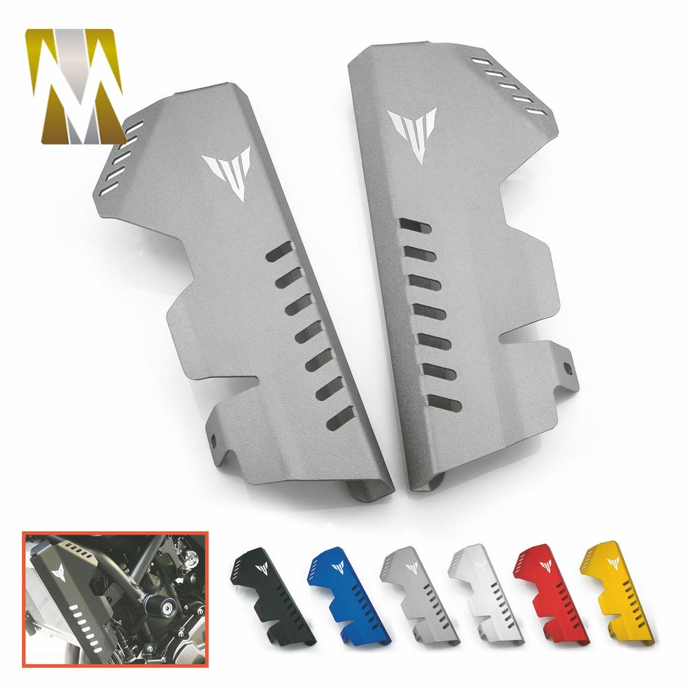 Motorcycle for MT 07 MT-07 FZ 07 FZ-07 Radiator Side Cover Protector For Yamaha MT07 FZ07 2014-2017 Motorbikes Accessories