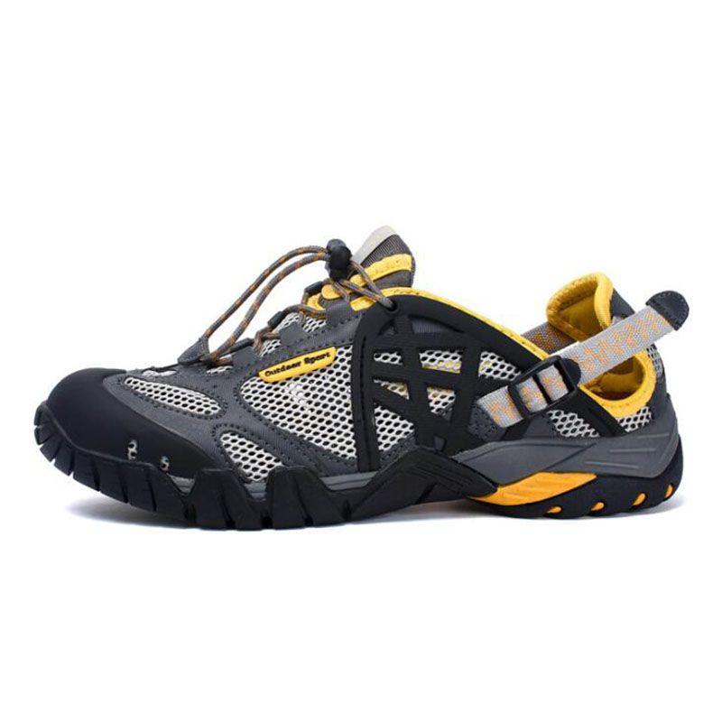 Men's Aqua Shoes Outdoor Hiking Shoes Brand Summer Sandals Sneakers For Men Qluick Drying Aqua Shoes Plus Size Beach Shoes