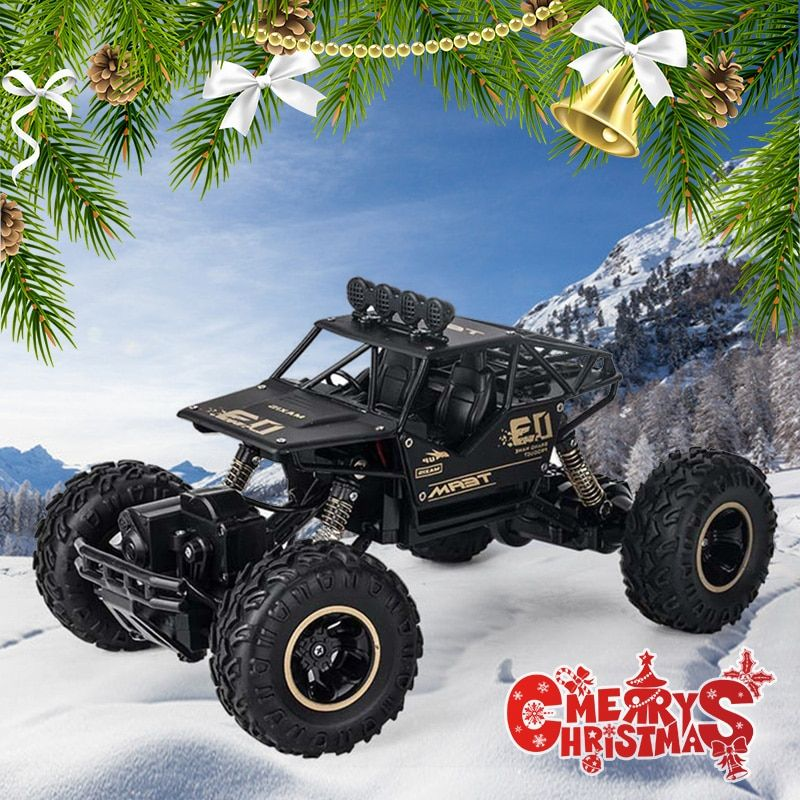 4WD Electric RC Car Rock Crawler Remote Control Toy Cars The Radio Controlled 4x4 Drive RC Car Toys For Boys Kids Suprise Gift