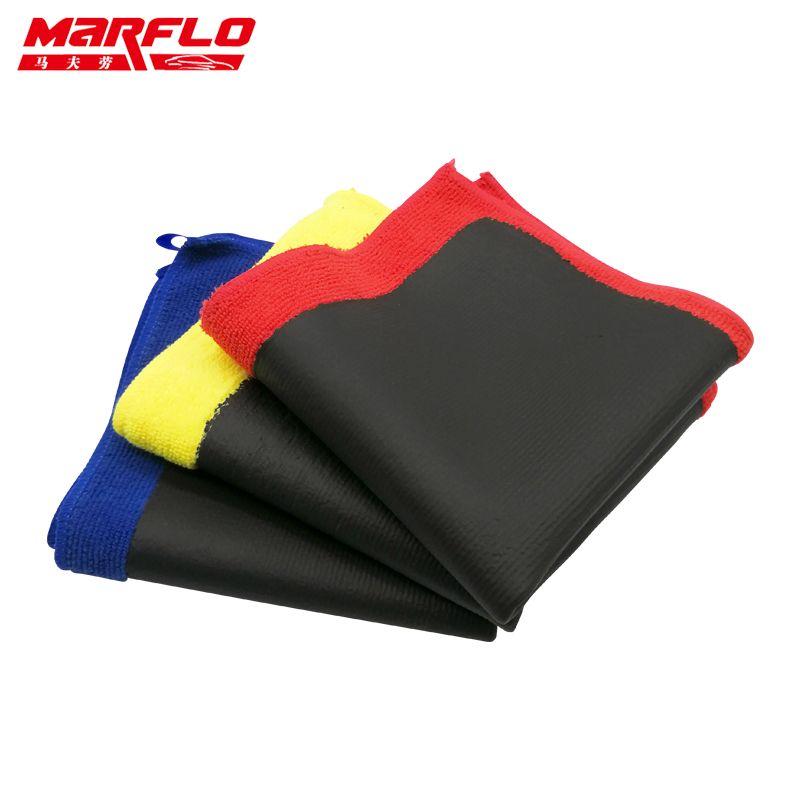 Marflo voiture peinture soin magique argile Bar microfibre serviette voiture peinture réparation voiture carrosserie briller avant cire et couter