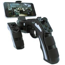 100% original ipega GamePad 9057 Phantom shox Blaster Wireless Bluetooth 3.0 Game Controller pistola diseño para Android IOS VR PC