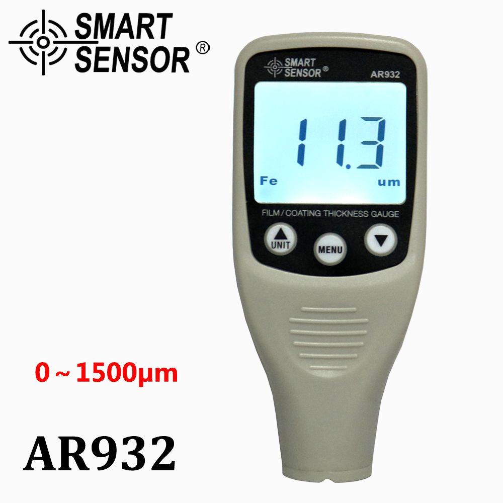 Digital Paint Coating Thickness Gauge W/ Probe, car detector Automotive Coating Refinishing car Paint tester Meter (0~1500um)
