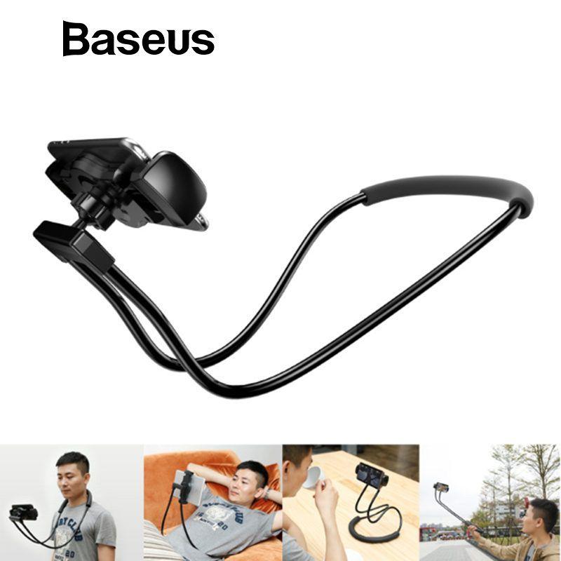 Baseus Flexible Handy Halter Universal Schreibtisch Telefon Halter Stehen Faul Neck Halterung Für iPhone Samsung iPad Tablet Halter
