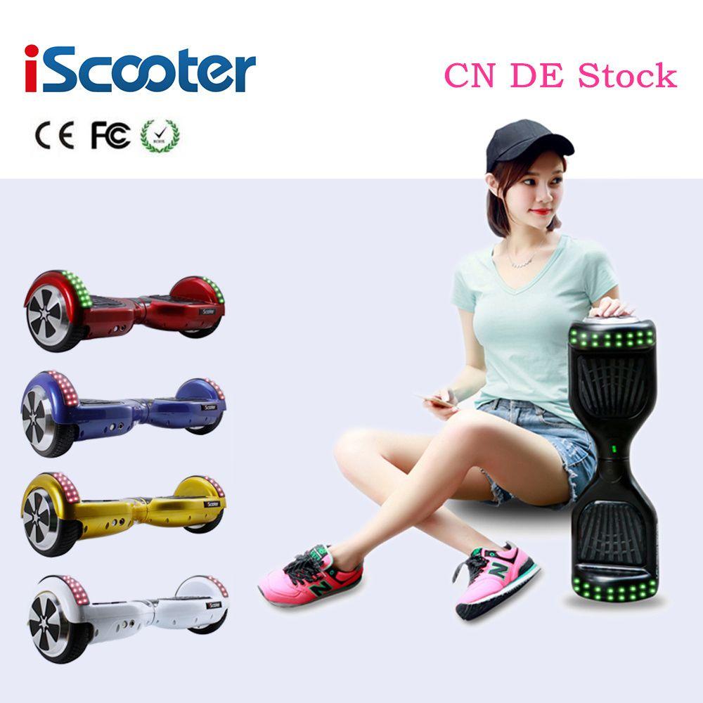 IScooter Hoverboard 2 Rad Schwebebrett Gyroscop Elektroroller Selbstausgleich Skateboard patinete electrico 2 ruedas