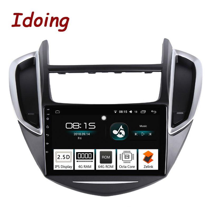Idoing 9 2.5D IPS Bildschirm Auto Android 8.0 Radio Multimedia Player Fit CHEVROLET TRAX 2014-2016 4g + 64g Octa Core GPS Navigation tv