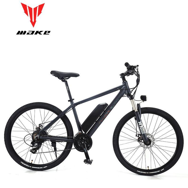 MACHEN Berg Elektrisches Fahrrad Full Suspension Alluminium Klapp Rahmen 24 Geschwindigkeit Shiman0 AItus Mechaniker Bremse 27,5 Rad
